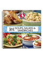 View 101 Soups, Salads & Sandwiches Cookbook