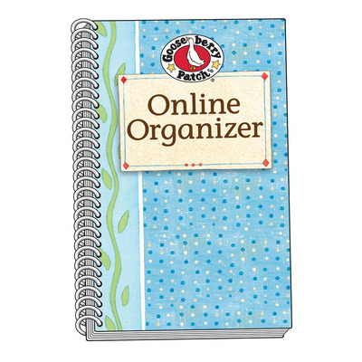 ae91479c5bfc Blue Online Organizer A Gooseberry Patch Exclusive Country Kitchen ...