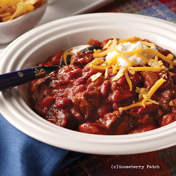 Gooseberry Patch Recipes Slow Cooker Steak Chili From Our Best One Bowl Meals