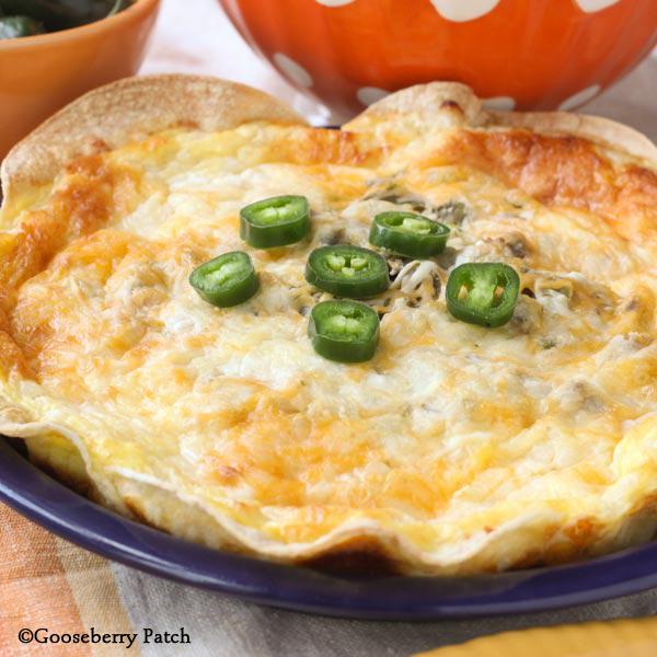 Gooseberry Patch Recipes Fiesta Corn Tortilla Quiche From