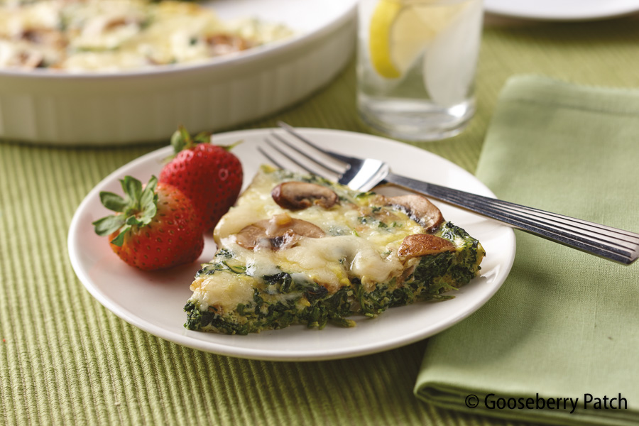 Gooseberry Patch Recipes No Crust Spinach Quiche From Weeknight Dinners 6 Ingredients Or Less
