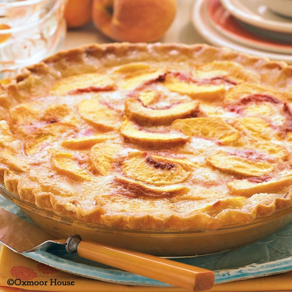 Gooseberry Patch Recipes Open Face Peach Pie From 5 Ingredient