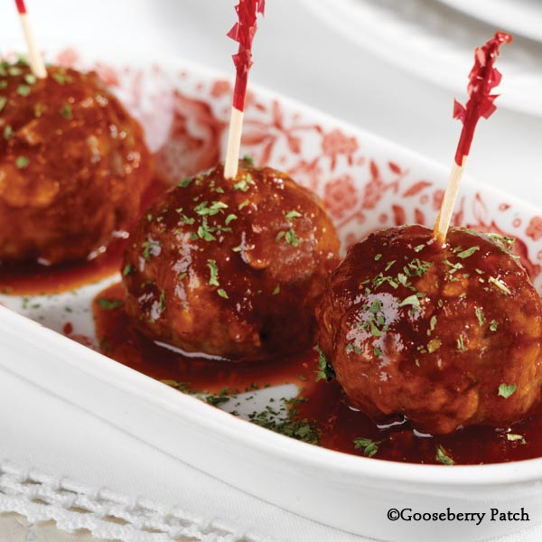 add meatballs and continue cooking until heated through transfer to slow cooker to keep warm while serving makes 5 dozen - Christmas Meatballs