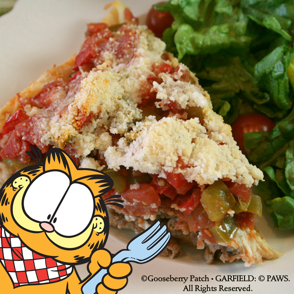 Gooseberry Patch Recipes Vito S Deep Dish Sausage Pizza From Garfield Recipes With Cattitude